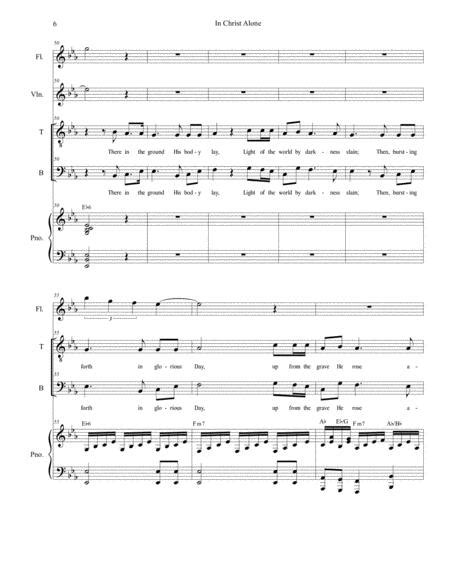 In Christ Alone For 2 Part Choir Tb  music sheet