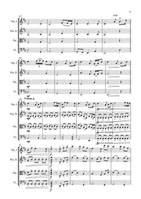 In Christ Alone String Quartet  music sheet