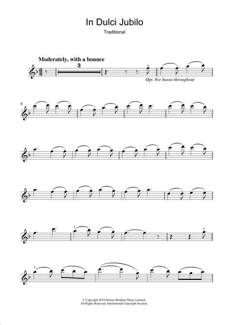 In Dulci Jubilo For Mandolin Solo  music sheet