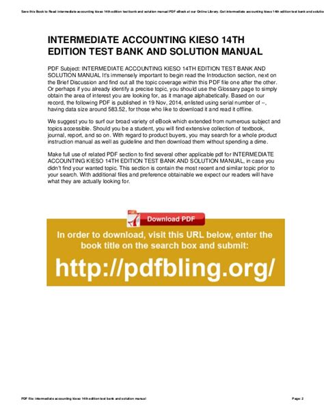 free download ebooks Intermediate Accounting Solutions Manual Wiley.pdf
