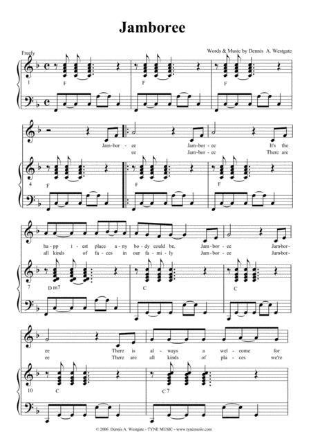 Jamboree  music sheet