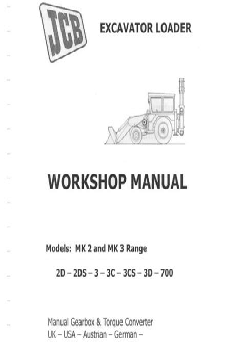 free download ebooks Jcb 3d Shop Manual.pdf