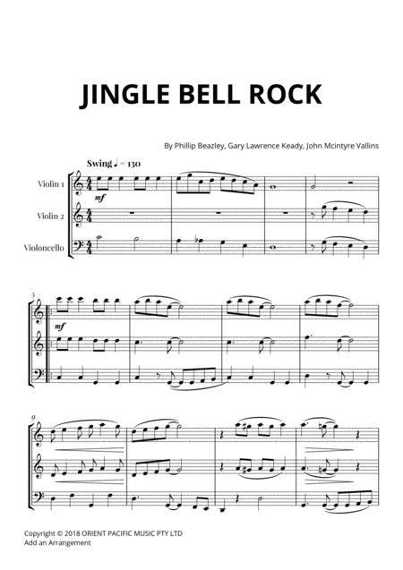 Jingle Bell Rock For String Solo Or Ensemble music sheet
