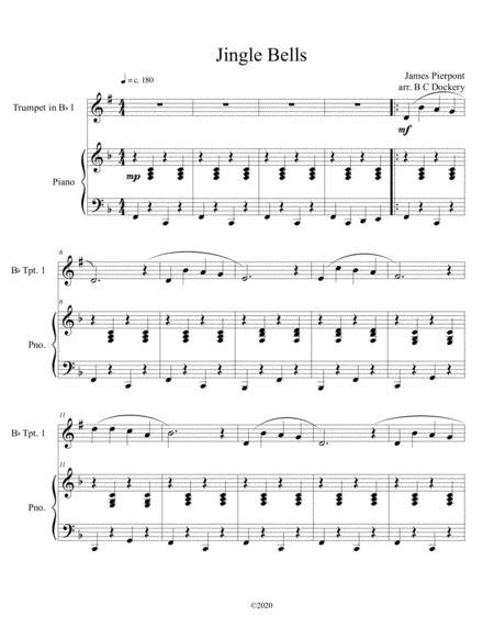 Jingle Bells Solo Flute With Optional Piano Accompaniment  music sheet