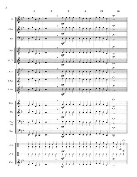 Joy To The King Beginner Band Super Easy Score Parts License To Copy Winter Concert  music sheet