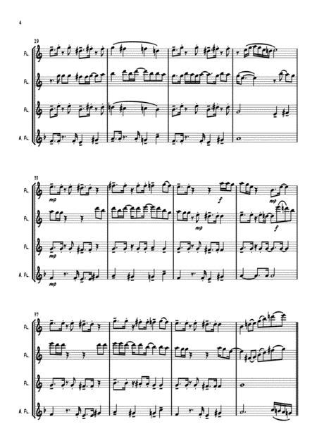Just The Two Of Us Flute Quartet  music sheet