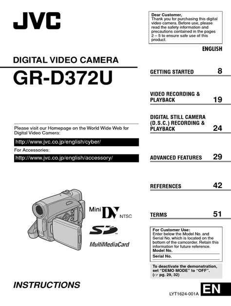 free download ebooks Jvc 32x Camcorder Manual.pdf
