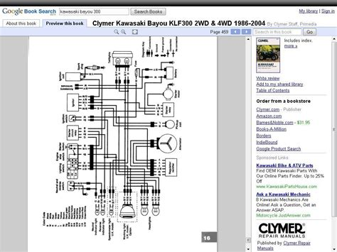 free download ebooks Kawasaki Bayou 300 Wiring Schematics