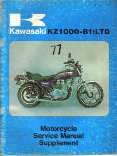 free download ebooks Kawasaki Kz1000 1977 Repair Manual.pdf
