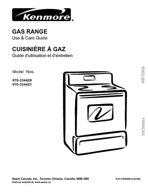 free download ebooks Kenmore Range Manual.pdf