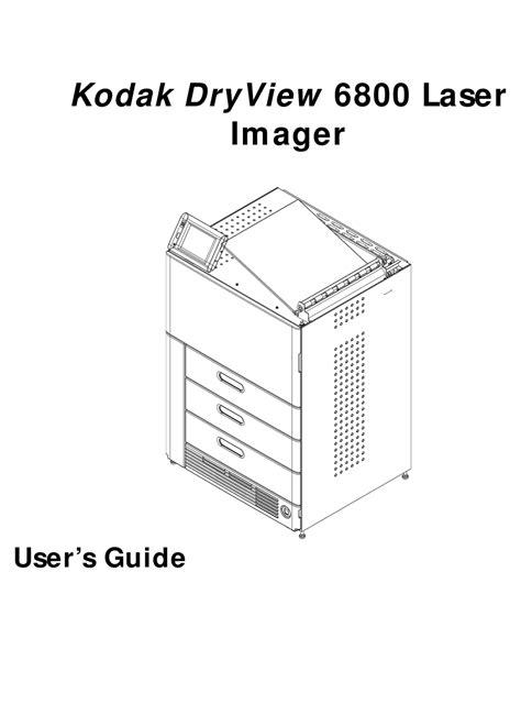 free download ebooks Kodak Dryview 6800 Manual.pdf