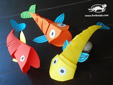 krokotak Moving fish