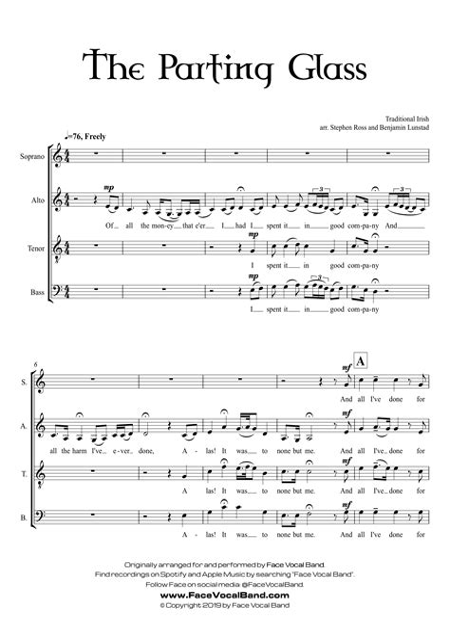 La Cura Sattb Satb  music sheet