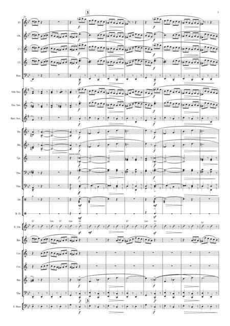 La Danza Tarantella Napoletana For Baritone In B And Concert Band  music sheet
