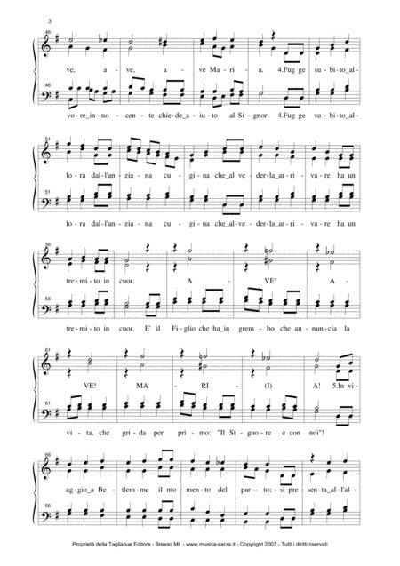 La Storia Di Maria Tagliabue Cantico Di Natale For Satb Choir  music sheet