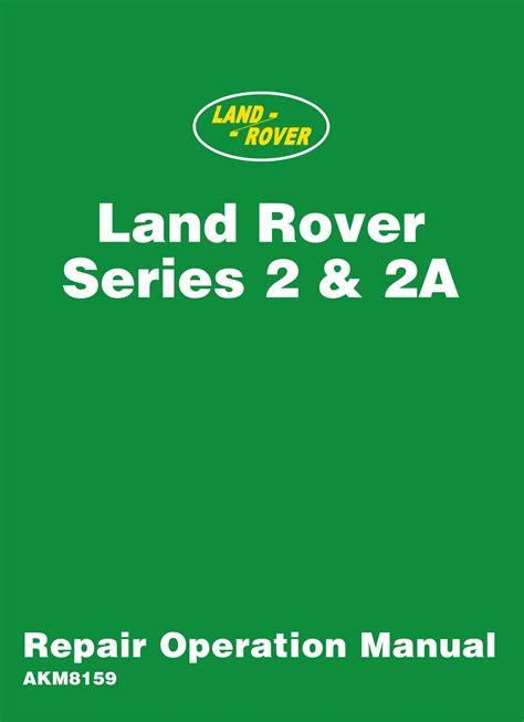 free download ebooks Land Rover Series Workshop Manual.pdf