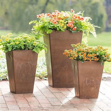 large outdoor flower pots Target