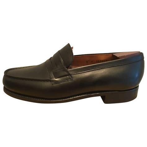 leather JM WESTON Men Shoes Vestiaire Collective