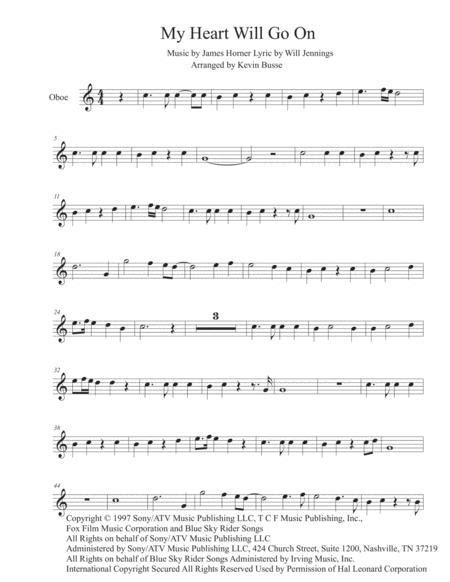 Let Her Go Easy Key Of C Oboe  music sheet