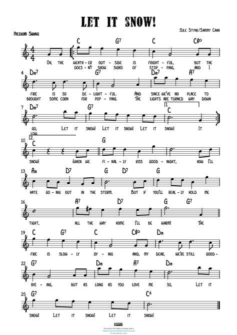 Let It Snow Let It Snow Let It Snow For Bassoon Quartet  music sheet