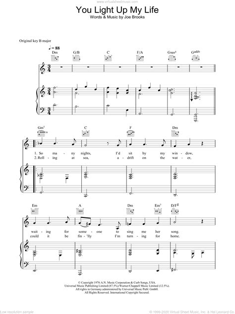 Light Of My Life Songs For A Primary Child  music sheet