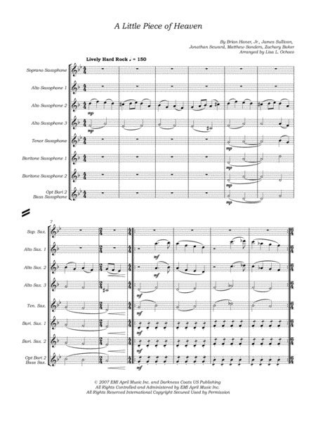 Liptak Like Clockwork  music sheet