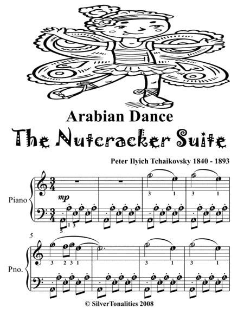 Littlest Nutcracker For Easiest Piano Tadpole Edition music sheet