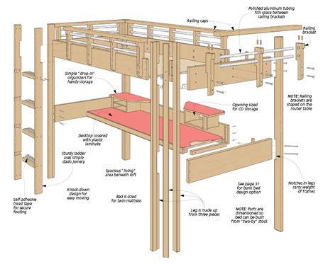 free download ebooks Loft Bed Diagram