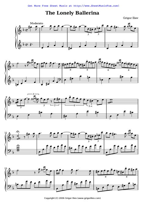 Lonely Toys  music sheet