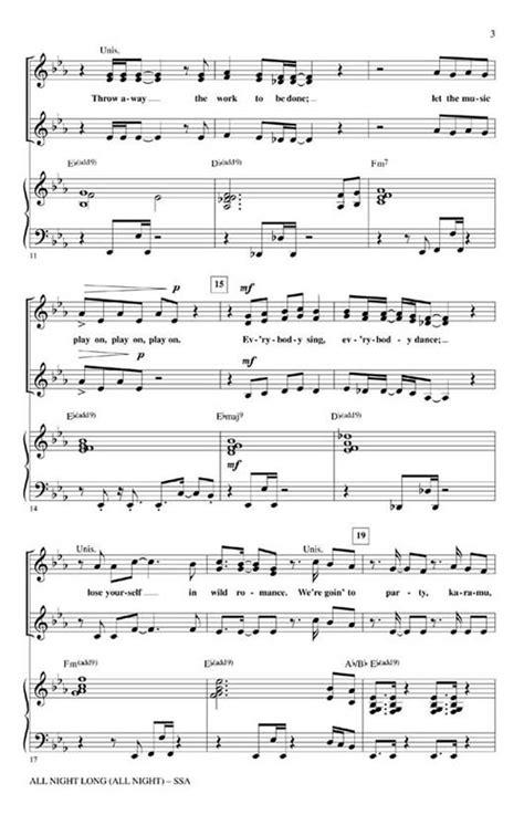 Longer For Ssa  music sheet