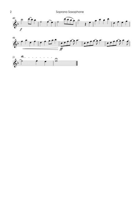 Love Is All Around Sax Quartet  music sheet