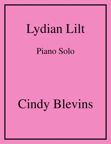 Lydian Lilt An Original Piano Solo From My Piano Book Balloon Ride  music sheet