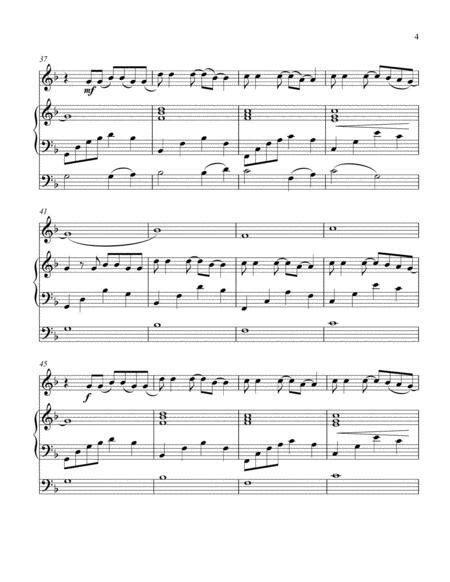Mad World Arranged For Harp Violin And Optional Cello  music sheet