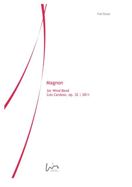 Magnon For Concert Band  music sheet