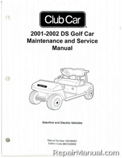 free download ebooks Manual 2001 Club Car Golf Cart.pdf