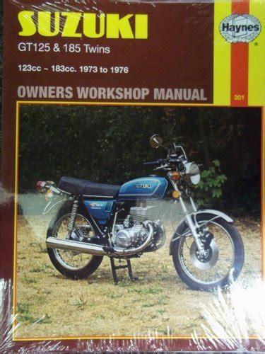 free download ebooks Manual For Suzuki Gt 185.pdf