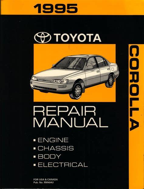 free download ebooks Manual Toyota Great Corolla 94.pdf