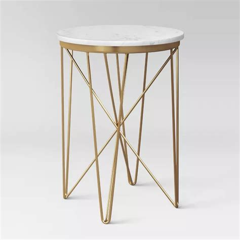 marble top table Target