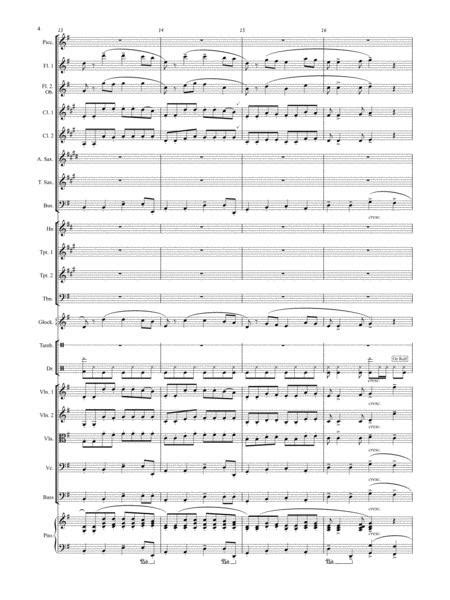 Marcato March Score Parts  music sheet
