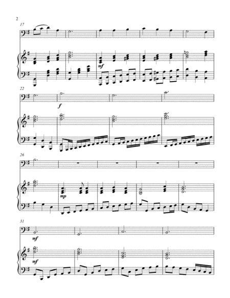 Marvelous Grace Of Our Loving Lord Bass C Instrument Solo  music sheet