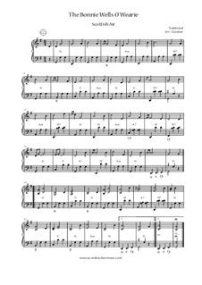 Mary Of Argyll Rothesay Bay The Bonnie Wells O Wearie Haste Ye Back  music sheet