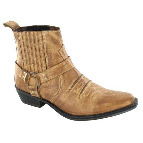 men s ankle cowboy boots eBay