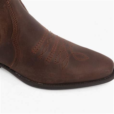 mens ankle cowboy boots eBay