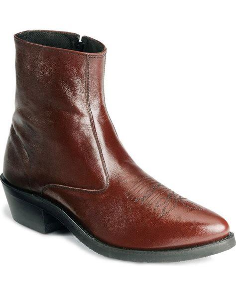 mens ankle zipper boots eBay