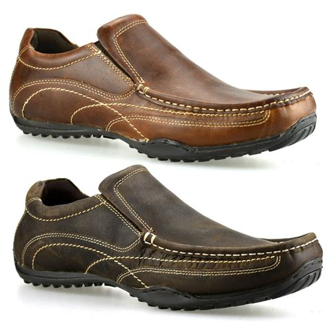 mens casual slip on shoes eBay