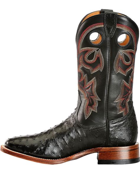 mens full quill ostrich boots eBay