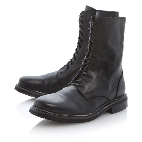 mens military boots black eBay