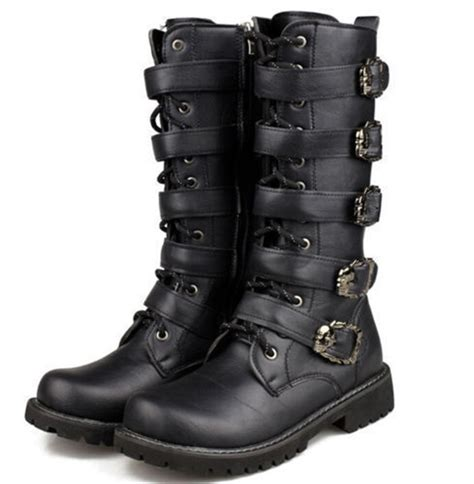 mens punk boots in Men s Boots eBay