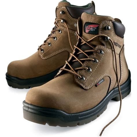 mens steel toe red wing work boots eBay