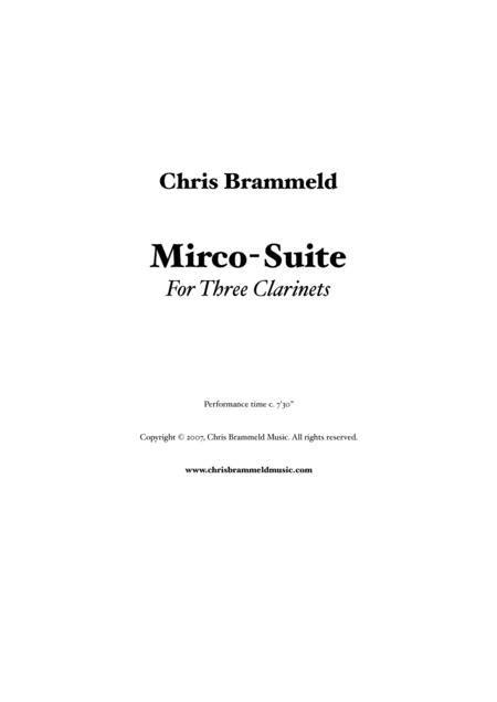 Micro Leccin N 3  music sheet